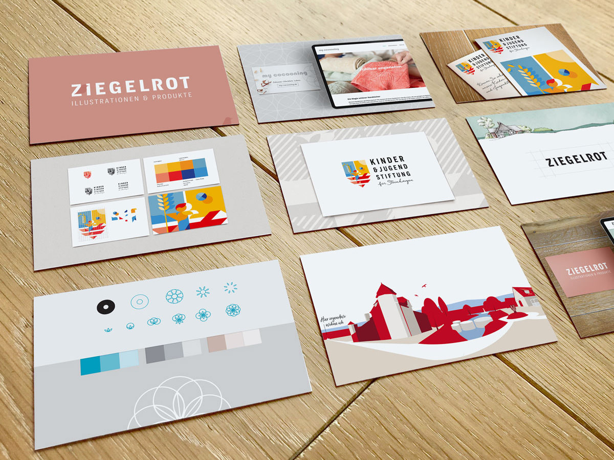Logos und Corporate Design Projekte im Portfolio